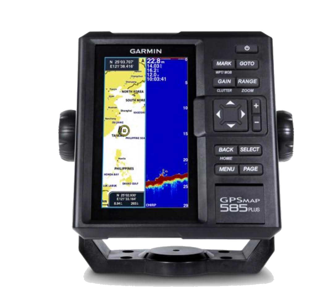 GARMIN FISH FINDER GPSMAP 585 PLUS